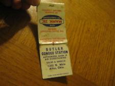 Butler Conoco Station Auto Mark IV Air Cond. Altus OK vintage matchbook