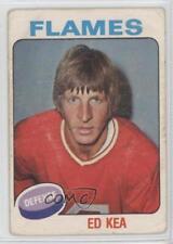 1975-76 O-Pee-Chee #383 Ed Kea Calgary Flames RC Rookie Hockey Card