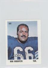 1971 O-Pee-Chee CFL Players Photos Stamps #181 Bob Hudspeth Rookie Football Card