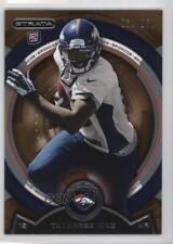 2013 Topps Strata Bronze #68 Tavarres King Denver Broncos Rookie Football Card