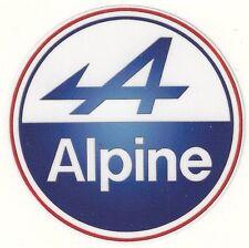 Sticker RENAULT ALPINE