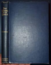 W E VINE The Gospel of the Bible c1929 TEACHING THEMES