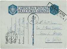 ITALIA REGNO - POSTA MILITARE : REALE MARINA 1942