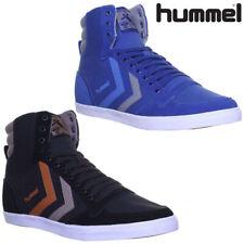 Hummel Stadil Hi Women Canvas Trainers Men High Boots