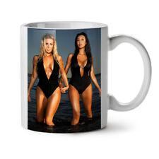 Sexy Teen Girls Swimsuit Models NEW White Tea Coffee Mug 11 oz | Wellcoda