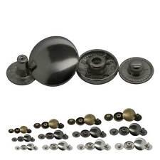 5 Set Metall Druckknöpfe Knöpfe Druckknopf zum Annähen 21cm Druck