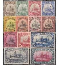 Deutsch-Neuguinea Nr. 7-19 ungestempelt / gestempelt