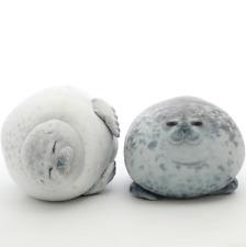 Plush Animal Toy Chubby Blob Seal Soft Pillow Pet Stuffed Doll Kids Girls Gift U