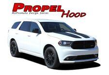 PROPEL HOOD 2011-2018 Dodge Durango Split Hood Stripes Decals Vinyl Graphics Kit