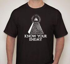 KNOW YOUR ENEMY Kill Illuminati Killuminati T shirt 100% cotton