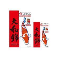 Yamato Nishiki Premium Colour Enhancing Koi Food 2kg 5kg 10kg Medium & Large JPD