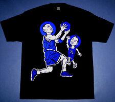 New Anfernee Penny hardaway shirt blue foamposite black jersey Cajmear M L XL 2X