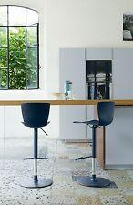 sgabello moderno COLICO DESIGN art.2500 RAP/SS acciao e polipropilene soft touch