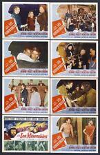LES MISERABLES 11x14's DEBRA PAGET/MICHAEL RENNIE/ROBERT NEWTON lobby card set