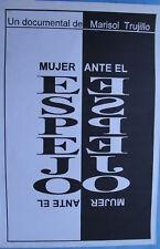 "Mujer Ante El Espejo ICAIC Film Poster art 20x30"" Original Silkscreen CUBA CUBAN"