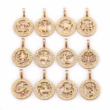 Luxus Sternzeichen Kette 750er Gold 18K echt vergoldet  Damen Schmuck Callissi