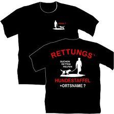 Rettungshunde Hunde T-Shirt Hundetraining Hundeschule Training Ausbildung 3