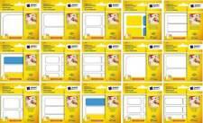 Avery Etiketten im Block Hinweis-Schilder Preis-Schild Haft-Notizen Aufkleber