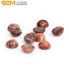 Texture Jasper Gemstone CAB Cabochon Beads For Jewelry Ring Pendant Making 5Pcs