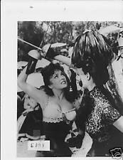 Gina Lollobrigida VINTAGE Phot Beautiful but Dangerous.