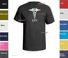 LPN Licensed Practical  Nurse T-Shirt Medical Service Shirt SZ S-5XL