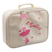 Girls Pink, Lilac Or Cream Ballet Dance Hand Vanity Case Bag By Katz Dancewear