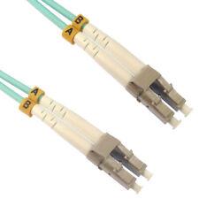 1m OM4 Eau Fibre Optique LC LC Duplex MM 50 125 Brassage LSZH Câble [007246]
