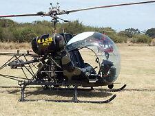 "MASH TV SERIES Helicopter Captain Benjamin Franklin ""Hawkeye"" 8x10 PHOTO"