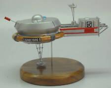 Thunderbird-5 Anderson UFO Spacecraft Dried Wood Model