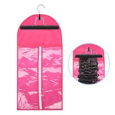 Clip in Hair Extensions Suit Case Hanger Bag Carrier Storage for Virgin Hair Bag
