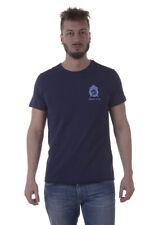 T-shirt Maglietta Versace Jeans T-Shirt Sweatshirt % PLUTO Uomo Blu B3GPA742-231