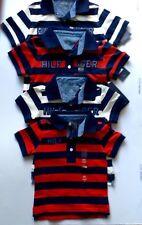 Tommy hilfiger baby boys polo striped tshirts  navy/ white navy/red
