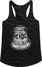 AC/DC Hells Bells Big Bell Womans Tank Sleep Shirt Metal Music