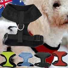 Pet Dog Puppy Cat Vest Leash Mesh Adjustable Harness Brace Clothes S M L PDOCH87