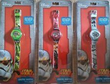 DISNEY STAR WARS - Digital kids watch - 3 Designs