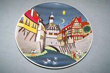Vintage NOS German E&A BOCKLING collector plate #8 MARKTBREIT