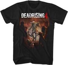 Dead Rising 4 Capcom X Box 360 Video Game Frank West With Bat Adult T Shirt