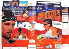 1996 Tom Dolan s66e Wheaties Cereal Box unused factory Flat bp41