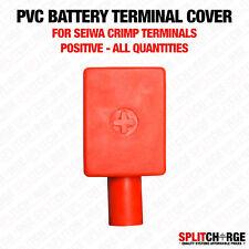 Di alta qualità PVC morsetto della batteria copre-SEIWA crimpare tipo positiva Red