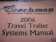 2006 Coachmen Systems Manual Cascade 33 FLS