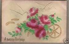 Embossed Doves Roses - Niles, Ohio Postmark 1911