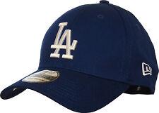 LA Dodgers New Era 3930 League Essential Royal Blue Stretch Fit Baseball Cap
