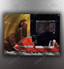 VINTAGE MOTO SKI MS-18 SNOWMOBILE BANNER