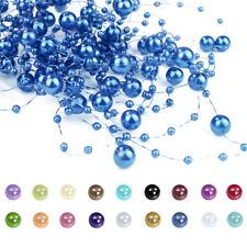 5 x1,3m Perlengirlande Perlenband Perlenschnur Perlengirlanden Tischdeko 0,30€/m