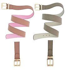 New Ladies Animal Snake Skin Print Faux Leather Waist Buckle Belts 16-30
