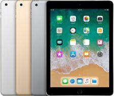 Apple iPad 5th Gen 32GB 64GB 128GB WIFI LTE Cellular Space Gray Silver or Gold