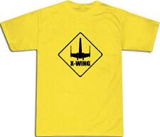 X Wing Cool Camiseta todos los tamaños # Amarillo