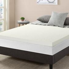 """3"""" Premium Ventilated Air Flow Memory Foam Mattress Topper, Full Queen Dorm Gift"""