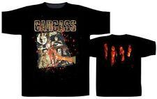 Carcass Necroticism T-Shirt Black Small Heavy Metal Rock Band Shirt New