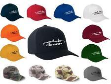 Shelby Cobra Sports Car Classic Color Outline Design Hat Cap
